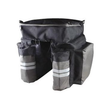 Dviračio krepšys ant bagažinės (nuoma)