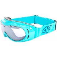 Moteriški slidinėjimo akiniai melsvi GGD001