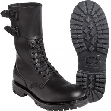 Prancūzų armijos odiniai batai MIL-TEC, JUODI