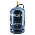 Dujų balionas 5kg su buitiniu ventiliu