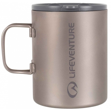 Lifeventure Insulated kelioninis titaninis puodelis
