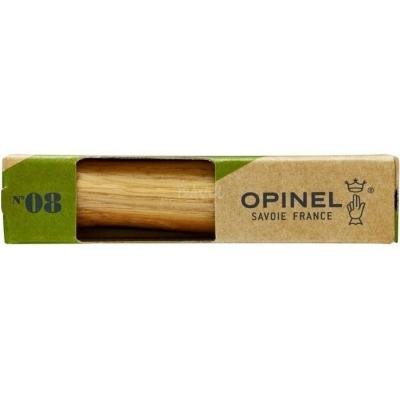Opinel peilis Nr.8 ąžuoline rankena dėžutėje