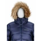 Moteriškas pūkinis puspaltis Marmot MONTREAL