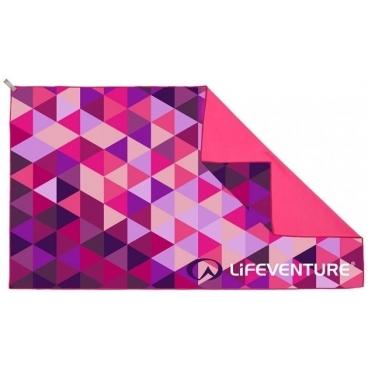 Kelioninis rankšluostis Lifeventure Soft Fibre Triangle