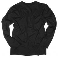 Marškinėliai ilgomis rankovėmis (juoda) Mil-Tec