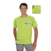 Marškinėliai su Turisto Pasaulio logotipu, vyriški