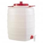 Plastikinė talpa su kraneliu, 50 l