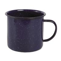 Emaliuotas puodelis, 680 ml., MĖLYNAS