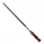 Iešmas uzbekiškas su medine rankena 48cm