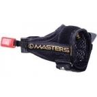 Šiaurietiško ėjimo lazdų pirštinės Masters Evolution Click Glove Reflex Gold