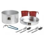 Turistinių puodų ir indų rinkinys Laken Aluminium Cooking Set 2 p., 1,6 l
