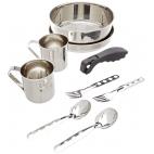 Turistinių puodų ir indų rinkinys Laken St. Steel Cooking Set 2 p. 20 cm