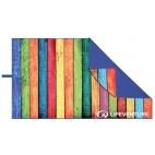 Kelioninis rankšluostis Lifeventure Soft Fibre Striped Planks