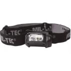 LED prožektorius tvirtinamas ant galvos Mil-tec 4-colour