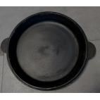 Uzbekiška poliruota keptuvė iš ketaus 40 cm