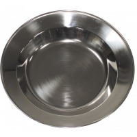 Lėkštė iš nerūdijančio plieno 23cm