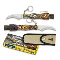Grybautojų peilis su šepetėliu ALBAINOX SETERA 3D
