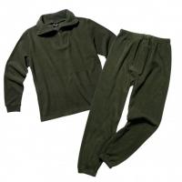 Šilti apatiniai rūbai iš fliso Mil-Tec (komplekte marškiniai ir kelnės)