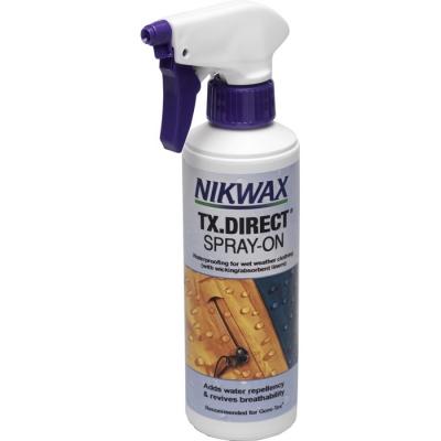 Neperšlampamų drabužių  impregnavimo priemonė Nikwax TX.Direct® Spray-On