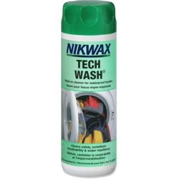 Neperšlampamų drabužių ir turizmo reikmenų skalbiklis NIKWAX Tech Wash® 300ml