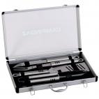 Grilio įrankių komplektas aliuminio dėžėje Campingaz