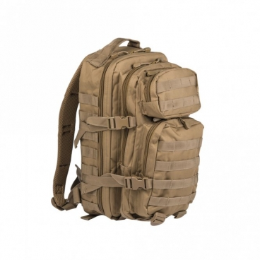 Kuprinė Mil-tec ''Assault pack'' 30l, Coyote