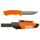Peilis MORA BushCraft Survival Orange