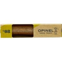 Opinel peilis Nr.8 riešutmedžio rankena dėžutėje