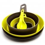 Plastikiniai dubenėliai, lėkštės